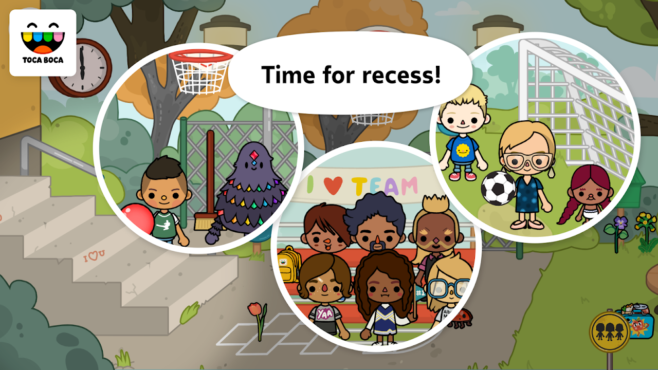 Toca Life: School 1.4-play Screen 2