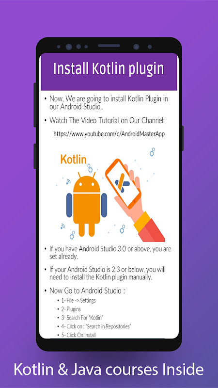 Master Android - Learn Android, Java & Kotlin 12.1 Screen 6
