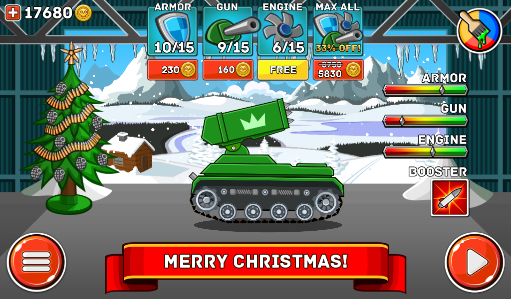 Android Hills of Steel Screen 14
