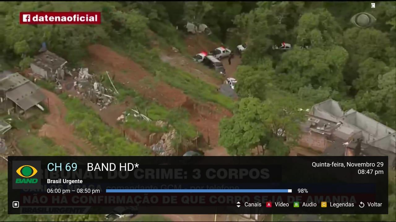 Android LIVE IPTV BR -  PRO Screen 4