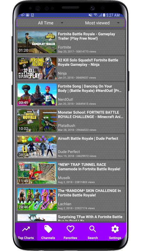 Videos for Battle Royale 1.0.0.027 Screen 2