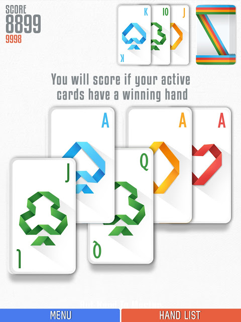 Android Politaire - Poker Solitaire Screen 3