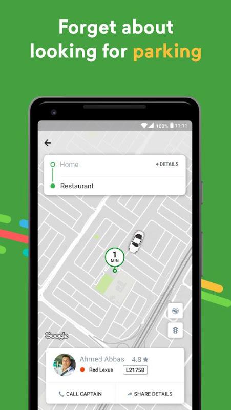 Android Careem - Car Booking App Screen 5
