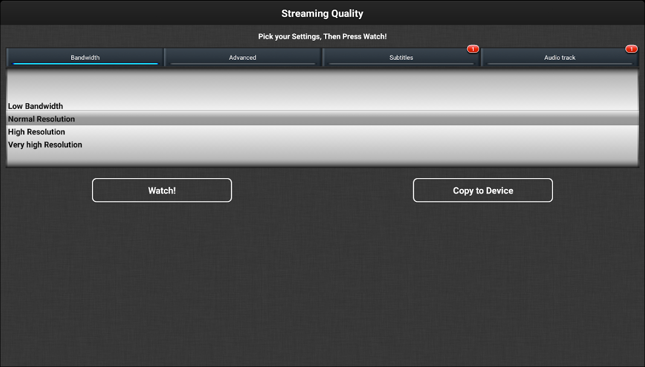 Android VLC Streamer Free Screen 13
