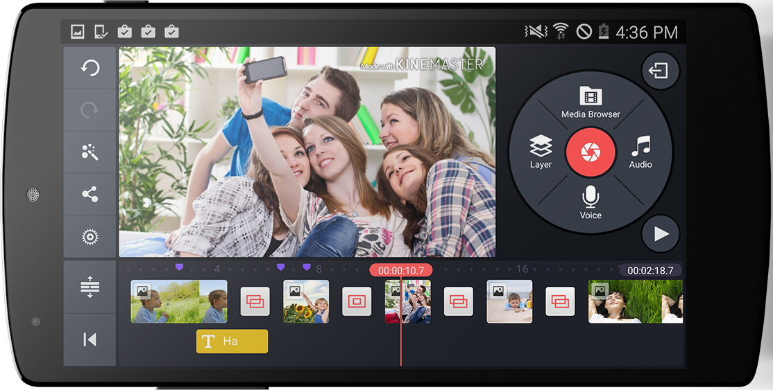 Android KineMaster – Pro Video Editor Screen 2