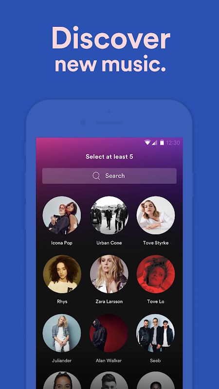 Android Spotify: Free Music Streaming Screen 7