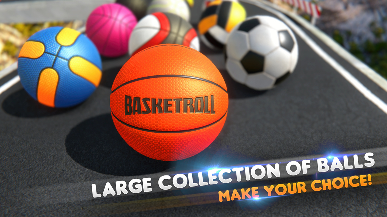 Android BasketRoll: Rolling Ball Game Screen 6