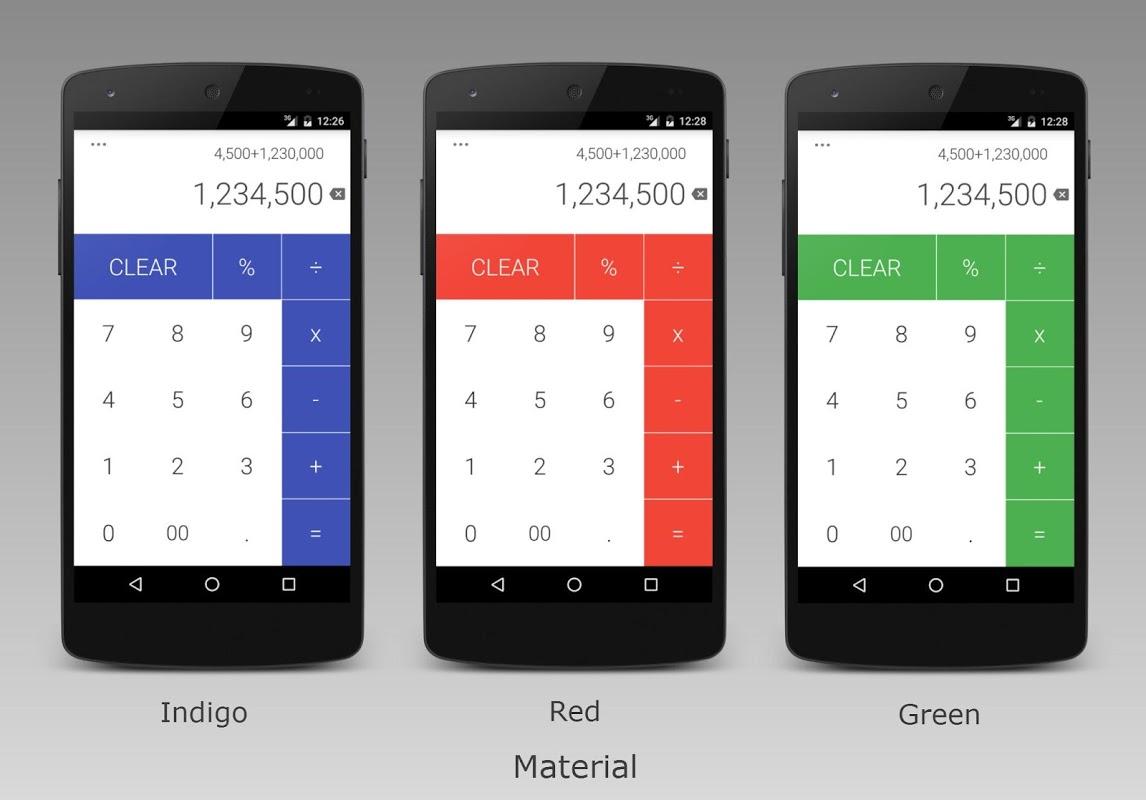 Calculator 1.10.9 Screen 2