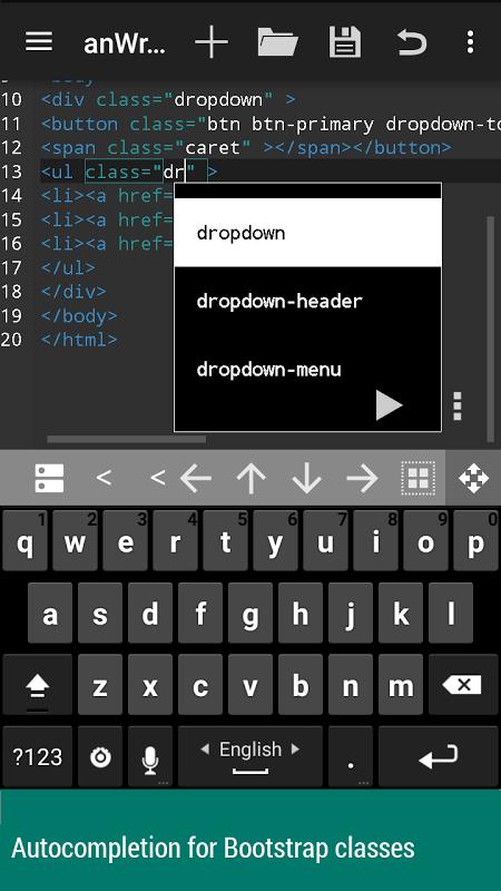 anWriter text editor 1.6.1 Screen 2