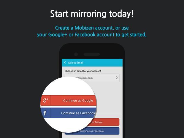 Mobizen Mirroring 2.21.0.34 Screen 2