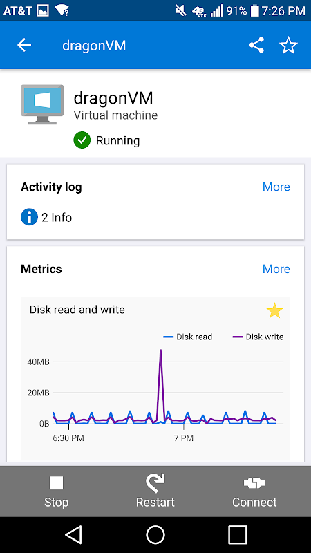 Microsoft Azure 1.0.33.2018.11.02-21.54.14 Screen 1