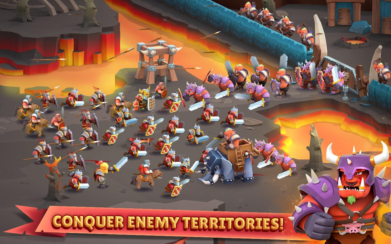 Android Game of Warriors (Unreleased) (MOD) Screen 1
