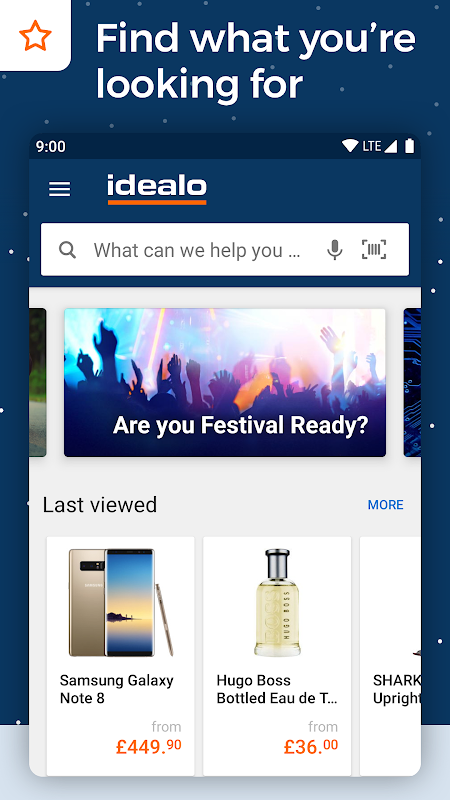 idealo - Price Comparison & Mobile Shopping App 11.0.1-BETA Screen 1