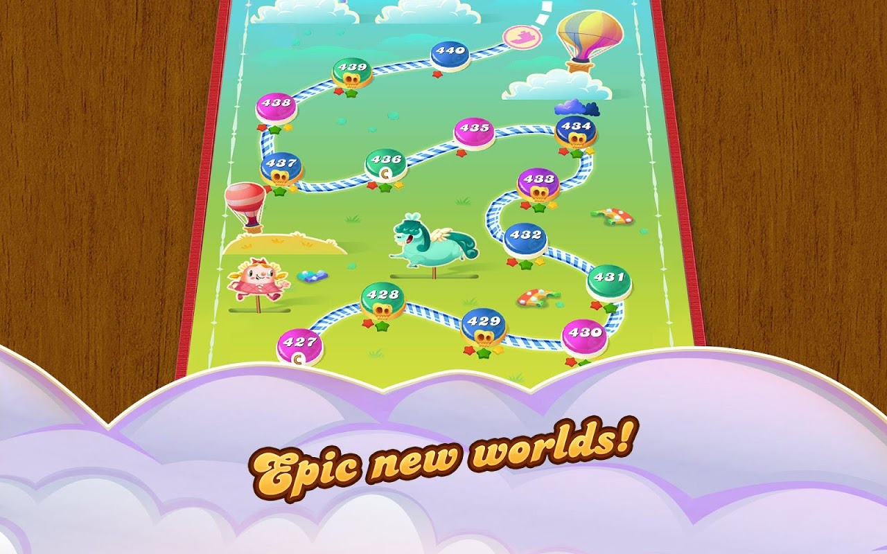 Android Candy Crush Saga Screen 13