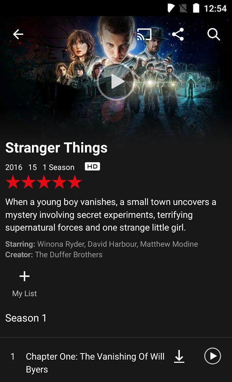 Netflix 6.11.0 build 29535 Screen 4