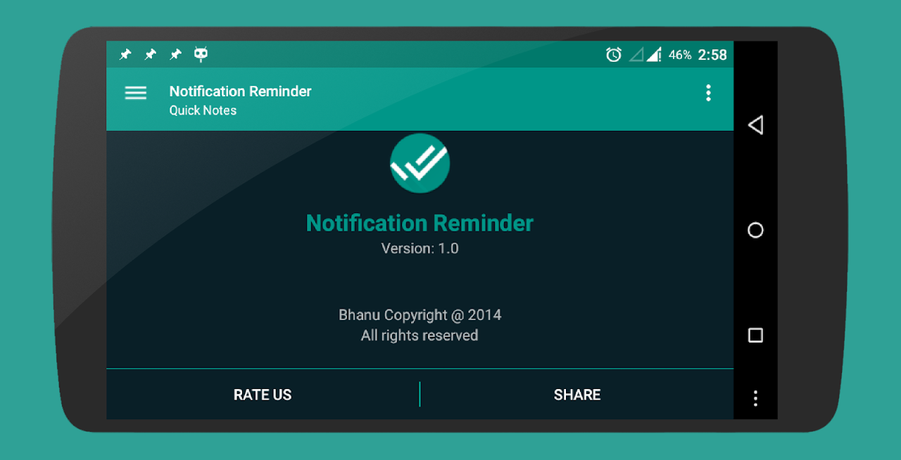 Notification Reminder 5.1 Screen 12