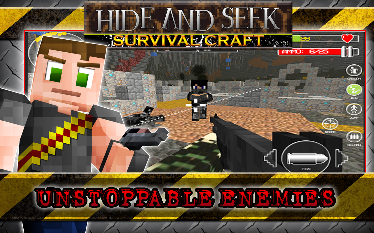 Android Hide N Seek Survival Craft Screen 10