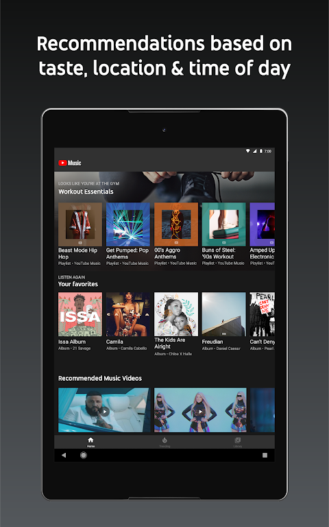 YouTube Music - stream music and play videos 3.05.54 Screen 5