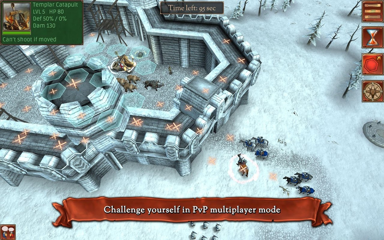 Android Hex Commander: Fantasy Heroes Screen 23