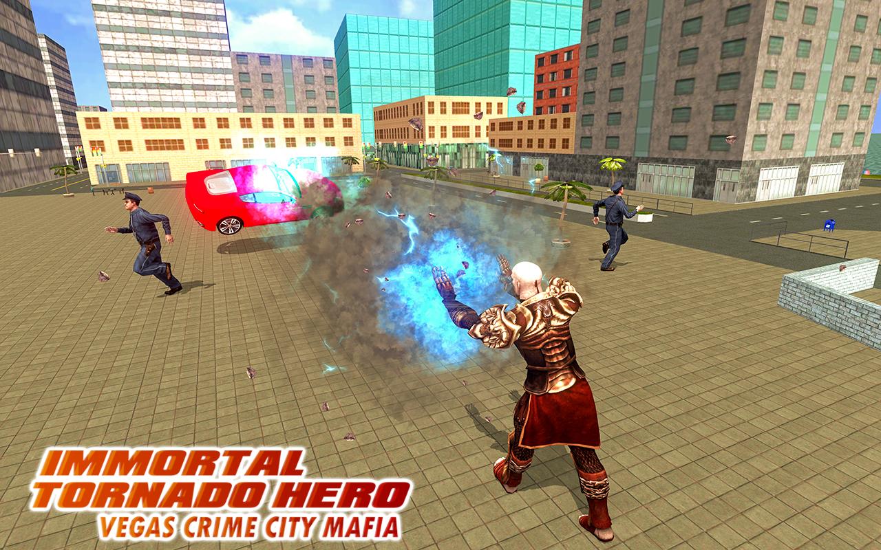Android Immortal Tornado hero - Vegas Crime City Mafia Screen 3