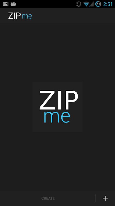ZIPme 1.0.4 Screen 6