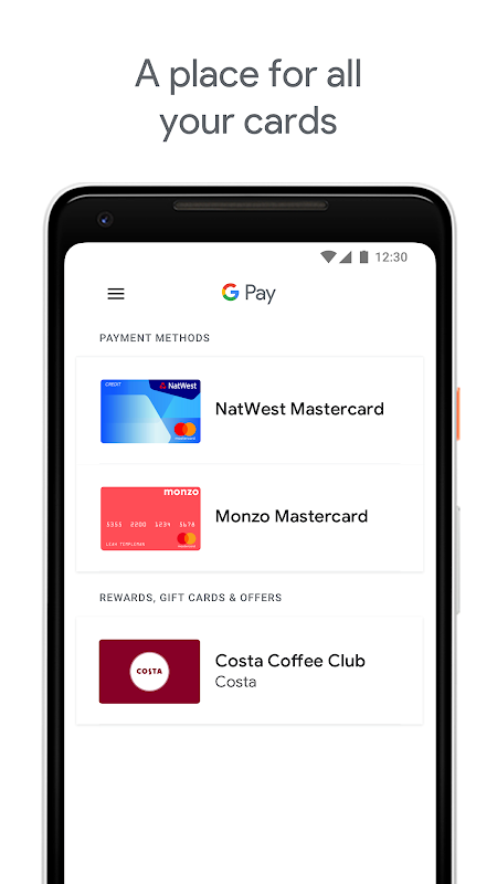 Android Android Pay Screen 1