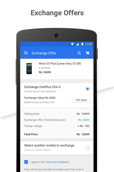 Android Flipkart Online Shopping Screen 5