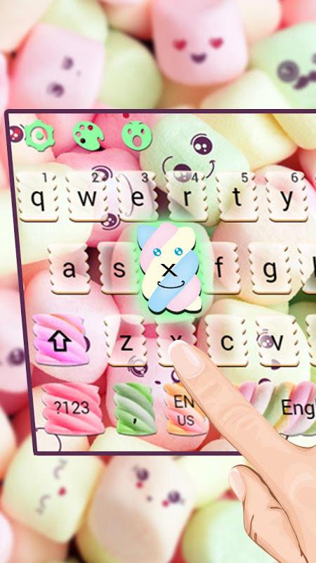 Android Marshmallow Keyboard Theme Screen 1