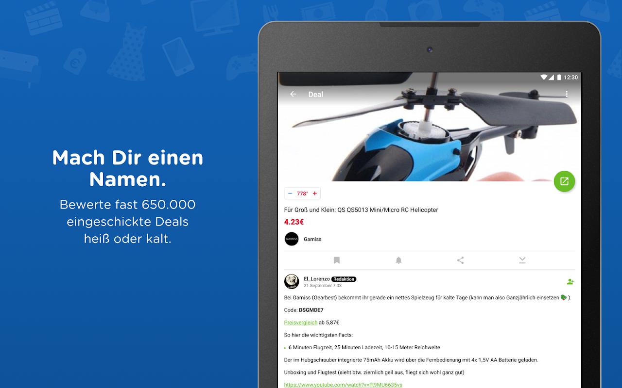 Android mydealz – Gutscheine, Schnäppchen, Angebote, Sale Screen 11