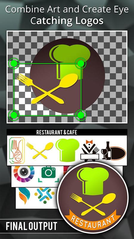 Android Logo Maker - Logo Creator, Generator & Designer Screen 2