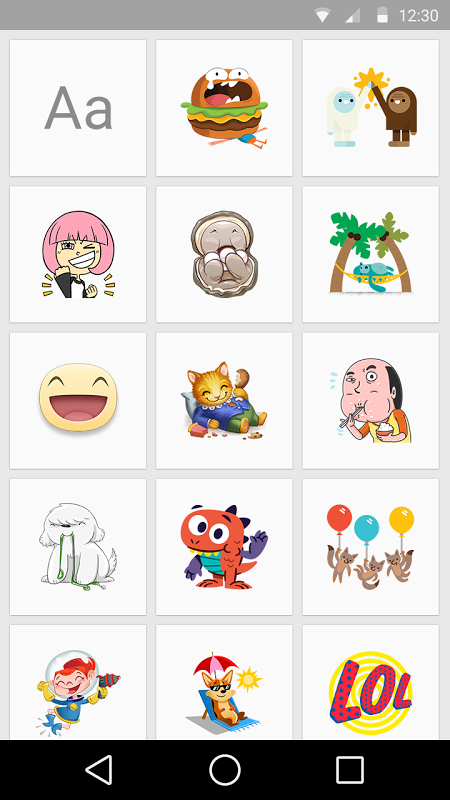 Android Stickered for Messenger Screen 3