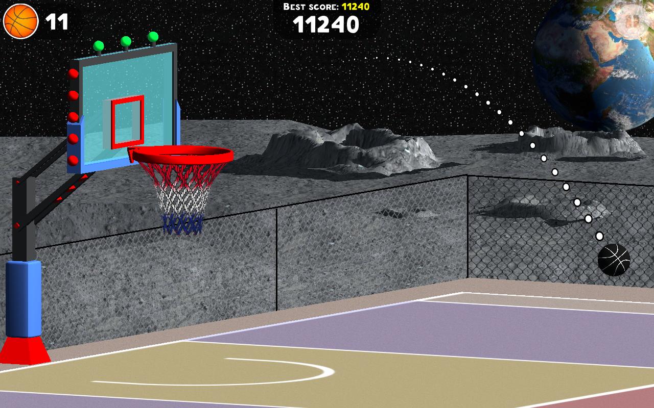 Android Basketball Sniper Shot Screen 9