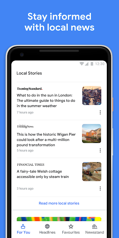 Google Play Newsstand 5.5.1 Screen 3