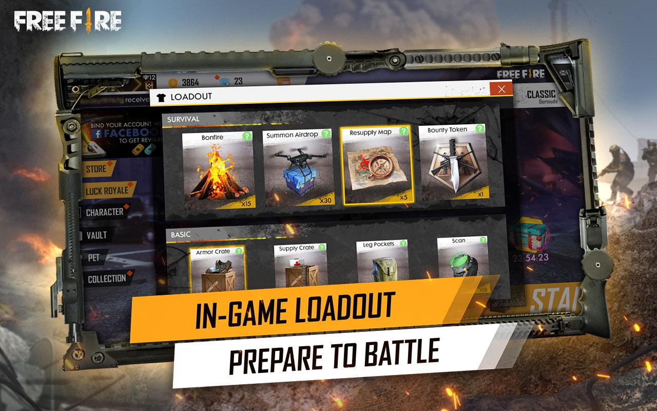 Garena Free Fire 1.38.0 Screen 1