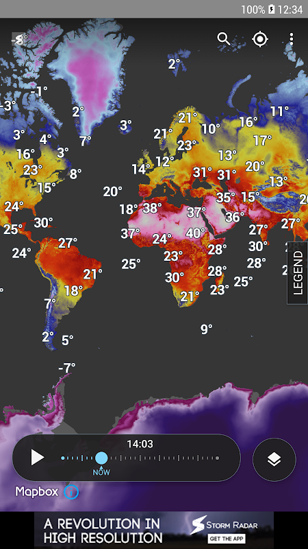 Storm Radar: Weather Map 1.6.2 Screen 6