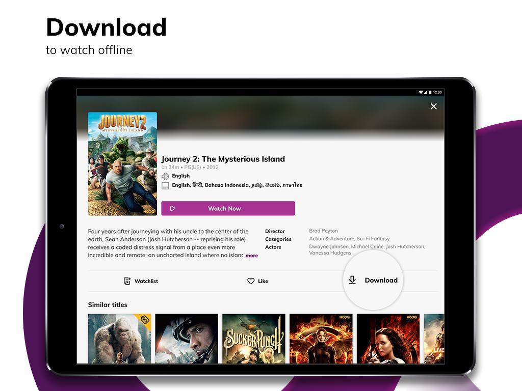 HOOQ - Stream & Watch Movies, TV Series & More 2.14.1-b705 Screen 13