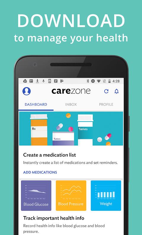 CareZone 8.0.4.1 (flagship) Screen 4
