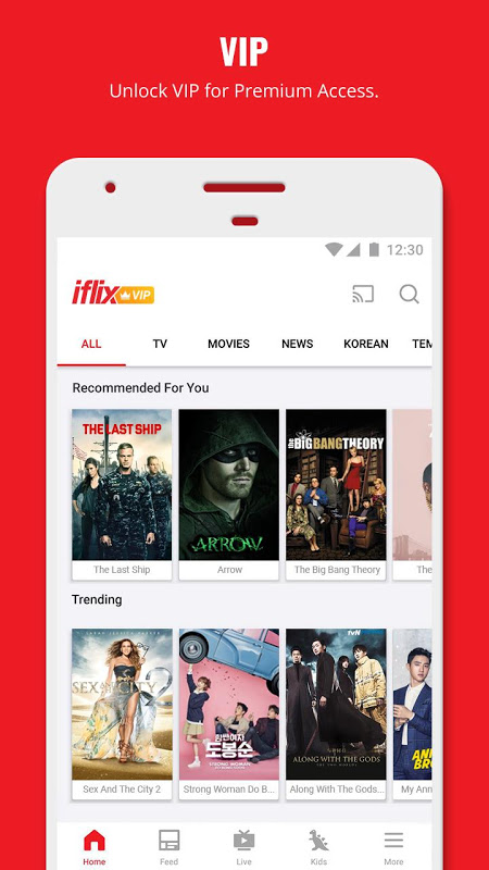 Android iflix Screen 4