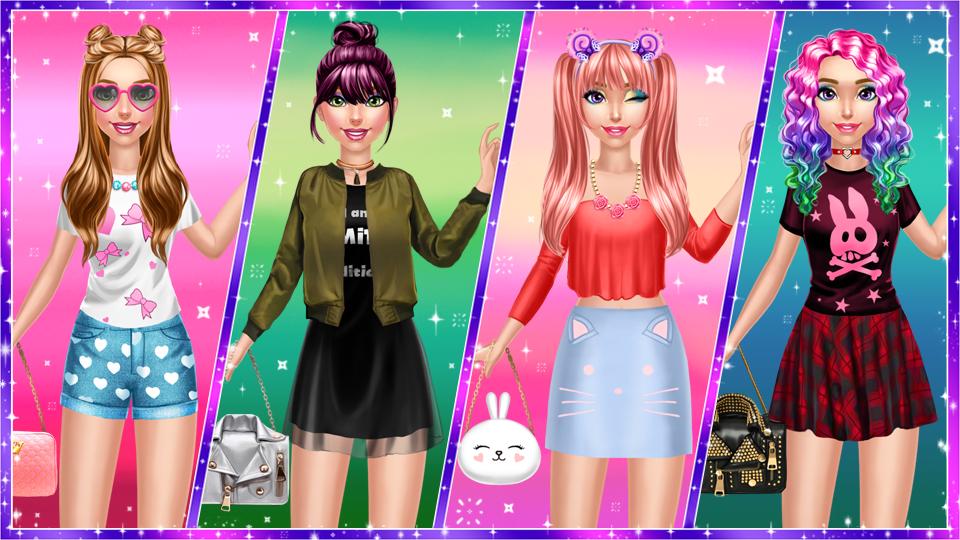 Trendy Fashion Styles Dress Up 1.0.2 Screen 2