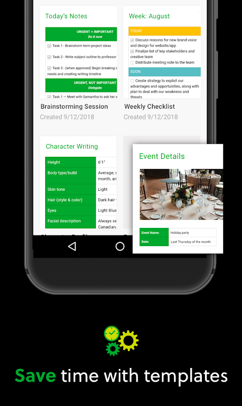 Android Evernote - stay organized. Screen 4