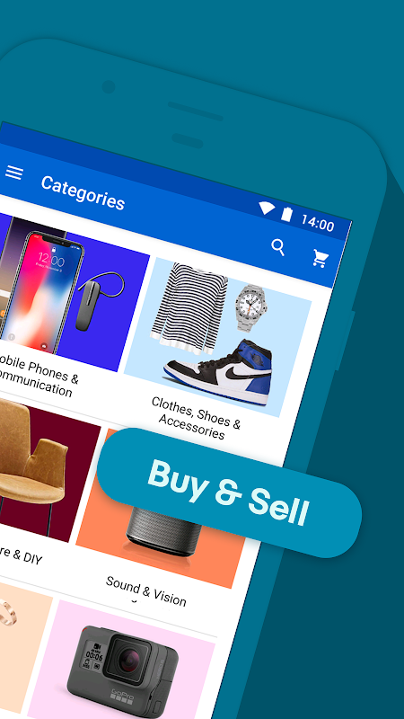 eBay Shopping Deals & Discounts - Buy, Sell & Save 5.28.1.1 Screen 1