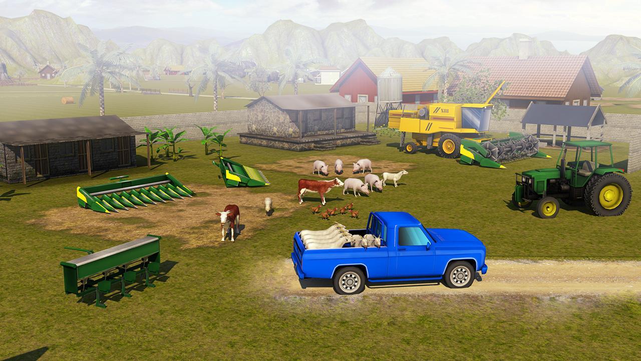 Android Farming Simulator 2018 - Farm Games Screen 1
