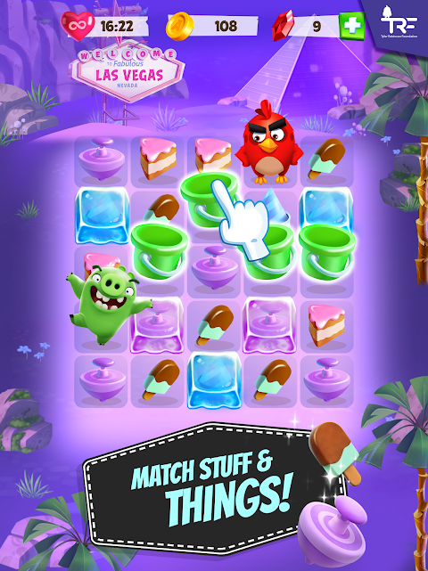 Android Angry Birds Match Screen 8