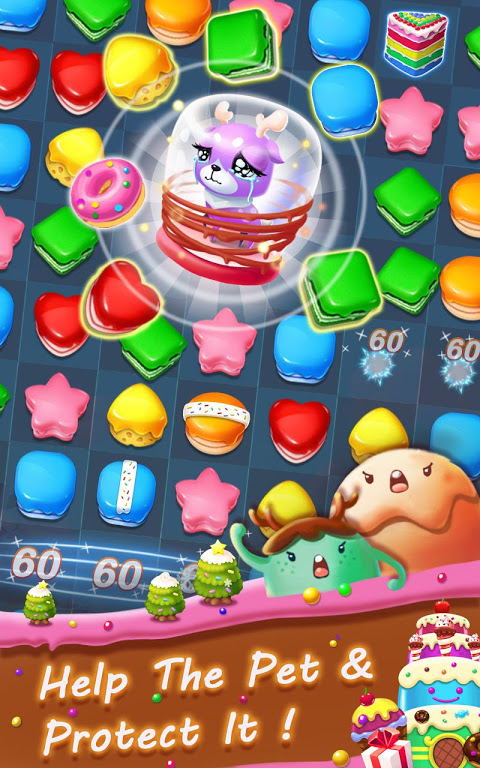 Android Cookie Blast Frenzy Screen 2