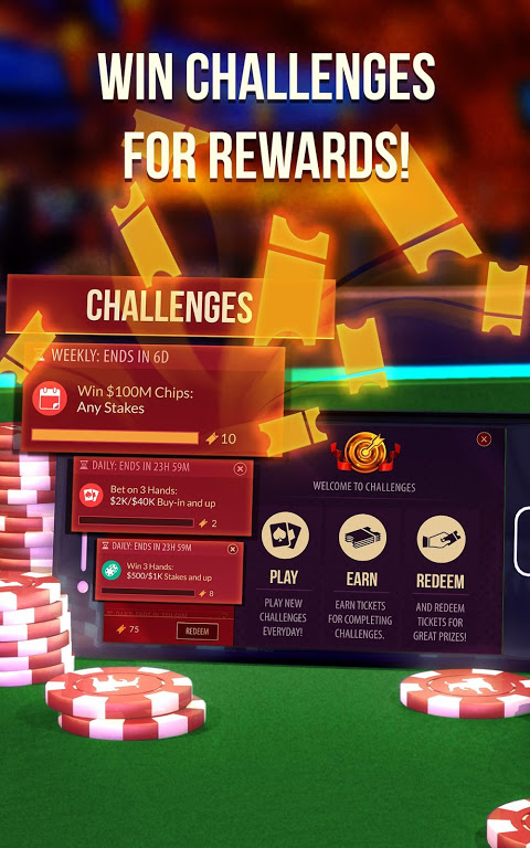 Android Zynga Poker – Texas Holdem Screen 9