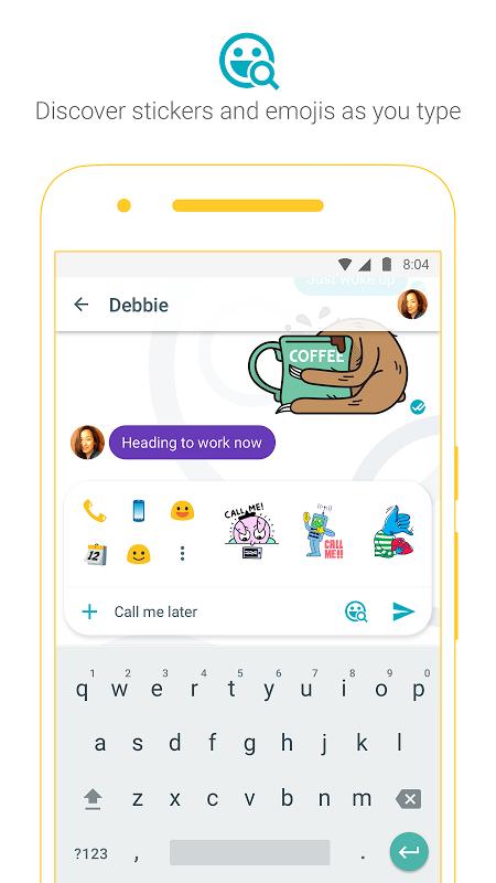 Android Google Allo Screen 2