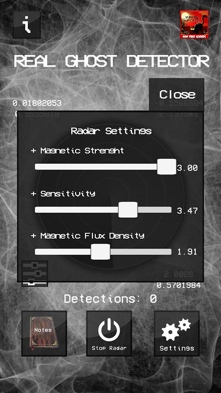 Real Ghost Detector - Radar 1.5.8 Screen 4