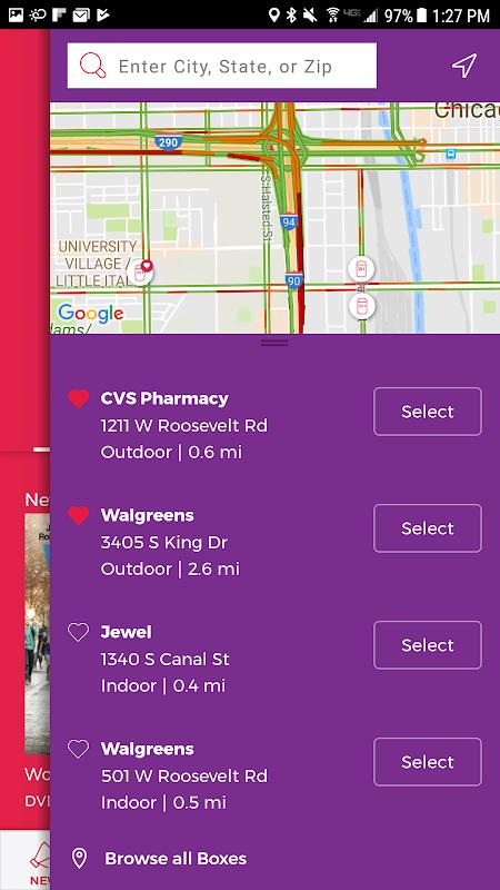 Redbox 7.5.0 Screen 3