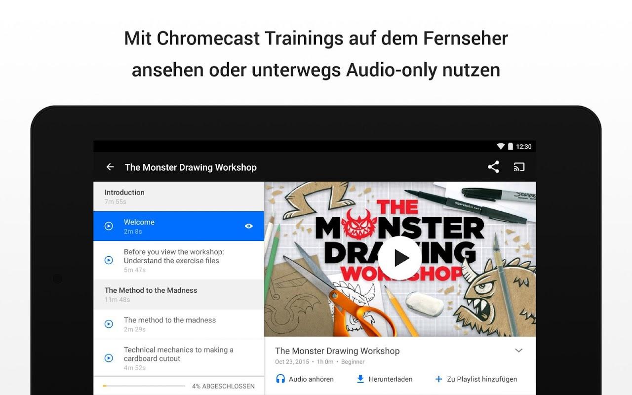 Android Lynda - Online Training Videos Screen 6