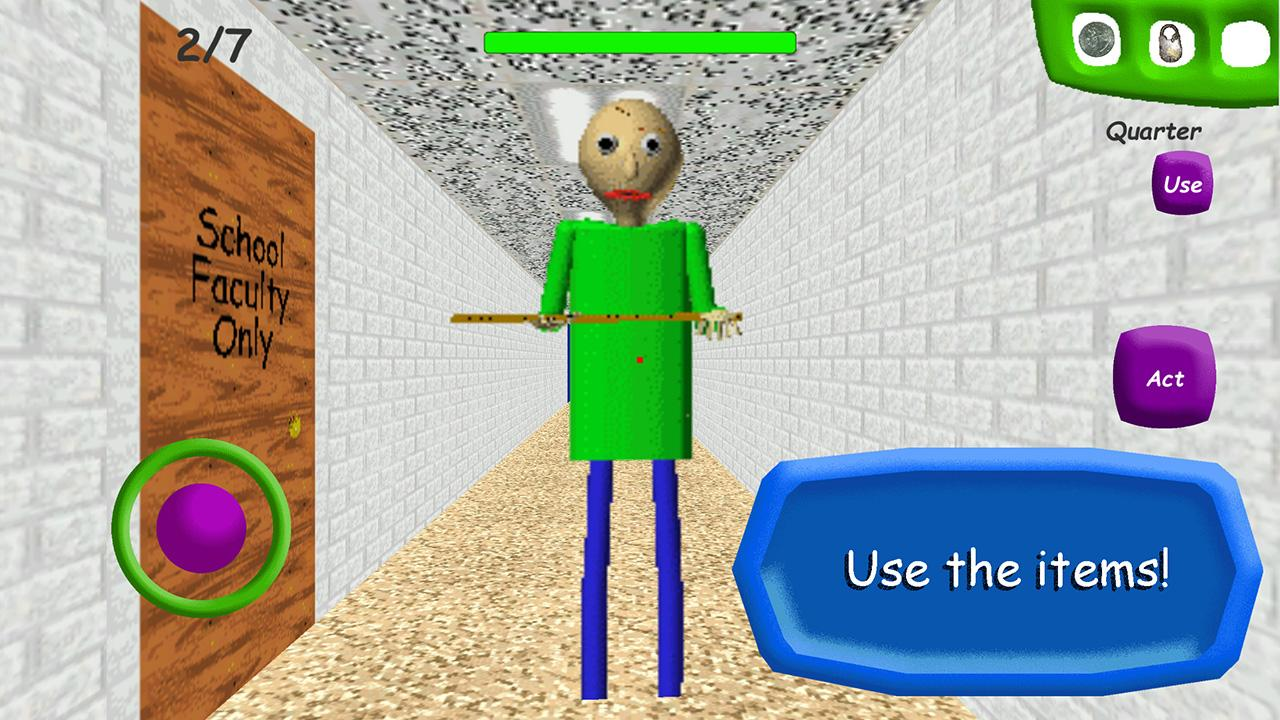 Android Baldi's Basics in Education School Screen 3